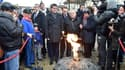 A Liévin, Manuel Valls a ravivé la flamme du souvenir, 40 ans après la catastrophe qui a coûté la vie à 42 mineurs.