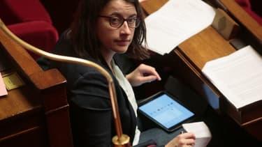 Cécile Duflot à l'Assemblée en février 2016.