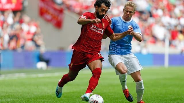 Salah, pas en réussite contre City