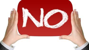 En disant 'non', on craint de détruire la qualité d'une relation, on a peur de se faire virer ou d'être mis au placard.