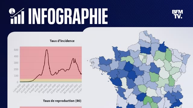 INFOGRAPHIES. L'épidémie de Covid-19 est-elle en train de repartir en France ?