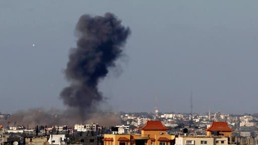 Les frappes israéliennes sur la bande de Gaza se sont multipliées ce week-end.