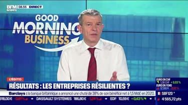 Nicolas Doze : Les résultats contrastés des entreprises - 18/02