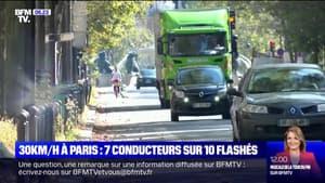 À Paris, les automobilistes ont du mal à respecter les 30km/h et les radars crépitent