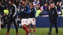 Olivier Giroud, Antoine Griezmann et Didier Deschamps