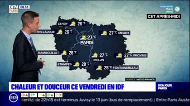 Météo Paris Ile-de-France: du soleil et jusqu'à 27°C à Paris