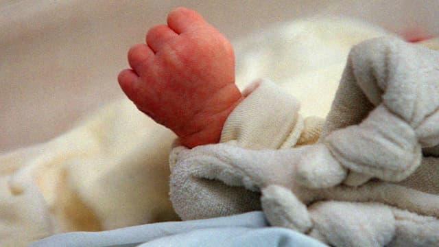 Un nourrisson. Photo d'illustration