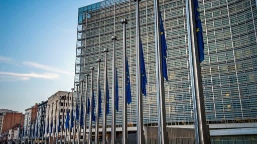 Siège parlement européen, à Strasbourg.