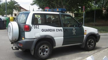 Un véhicule de la guardia Civil - Photo d'illustration