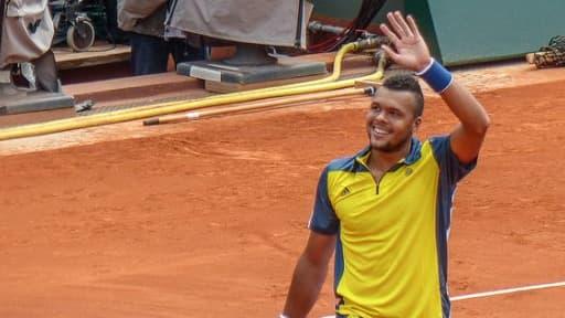 Jo-Wilfried Tsonga devra payer des impôts sur les sommes gagnés à Roland-Garros, même s'il réside en Suisse.