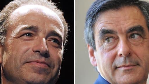 François Fillon et Jean-François Copé se disputent la présidence de l'UMP.