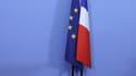 Le drapeau européen, symbole que la France Insoumise ne voudrait plus voir à l'Assemblée nationale.