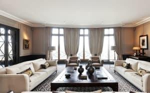 Cet appartement de 400 mètres carré dans le XVIème arrondissement coûtera entre 8 et 10 millions d'euros à son nouveau propriétaire.