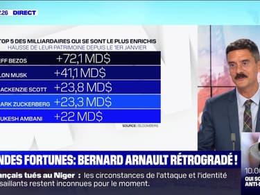 Grandes fortunes: Bernard Arnault rétrogradé ! - 11/08