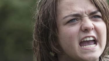 "Maisie Williams, Arya Stark dans ""Game of Thrones""."