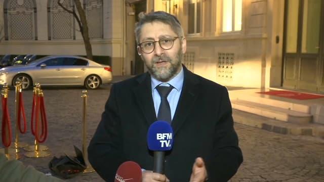 Le Grand rabbin de France, Haïm Korsia, le 19 février 2019