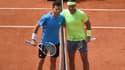 Thiem et Nadal lors de la finale 2019 de Roland-Garros