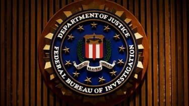 Le logo de la police fédérale américaine (FBI)