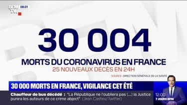 La France a franchi la barre des 30.000 morts du Covid-19