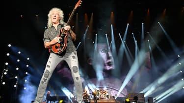 Brian May sur scène en février 2020