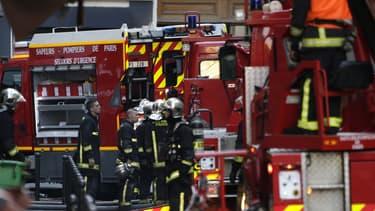 Un incendie criminel, vite éteint, s'est déclaré au petit matin ce mercredi dans le sous-sol du Palais de justice de Douai, important centre judiciaire du Nord, sans faire de victime et de dégâts majeurs - Pompiers - Photo d'illustration
