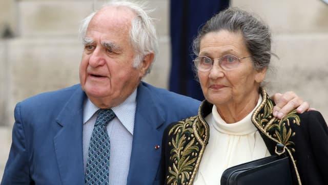 Simone et Antoine Veil le 16 juin 2011.