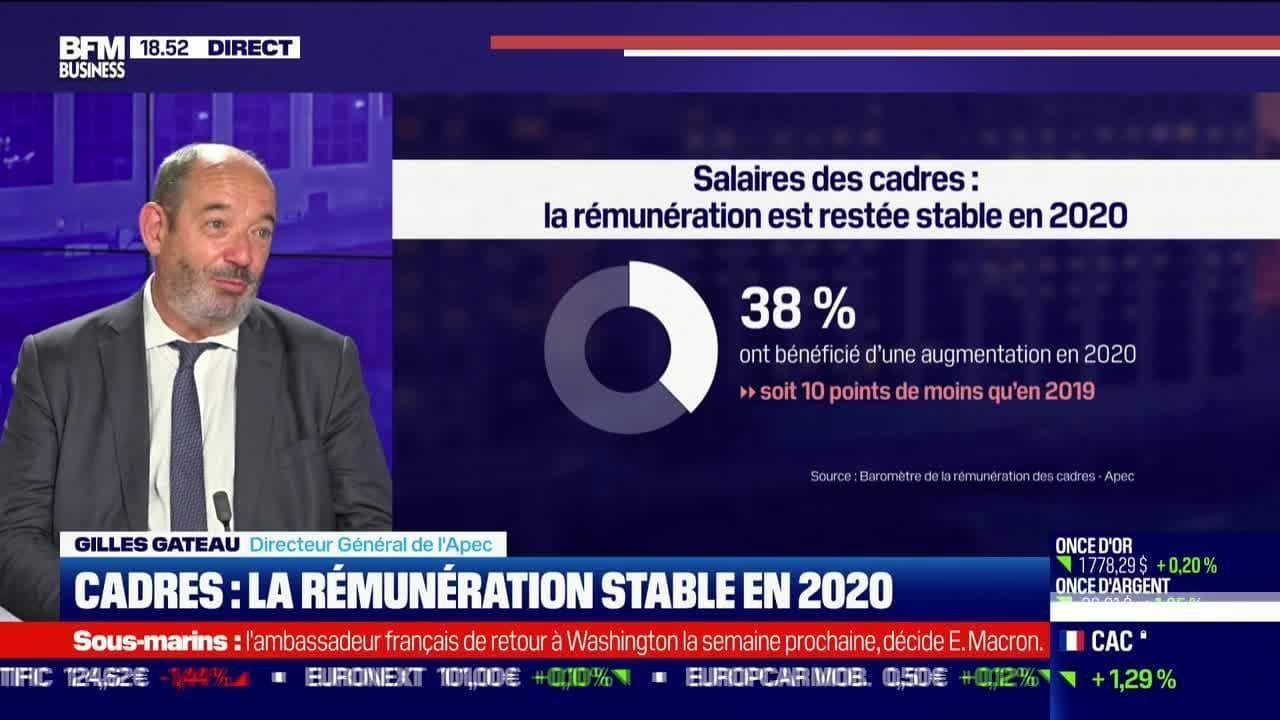 Gilles Gateau (Apec) : La rémunération des cadres stable en 2020 - 22/09