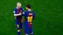 Andrés Iniesta et Lionel Messi
