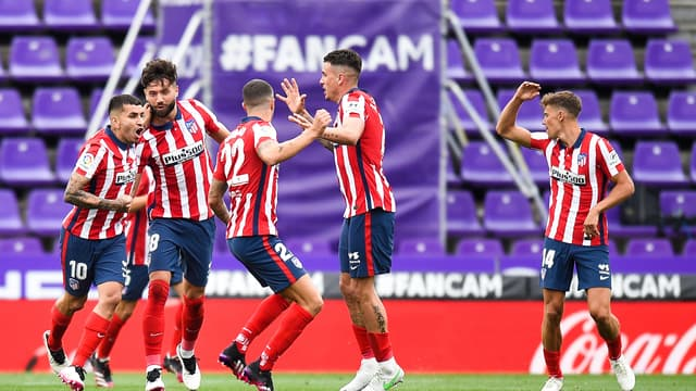 L'Atlético vers un 11e titre de champion d'Espagne