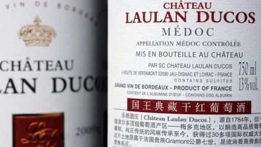 Les Chinois produisent des vins en copiant des noms de grands crus de Bordeaux