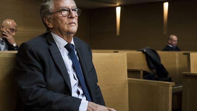 Yvon Collin devant le tribunal correctionnel de Lyon, le 21 septembre 2017.