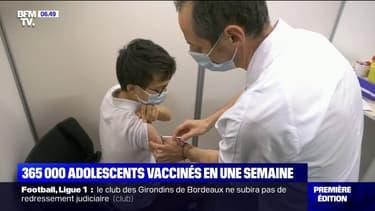 Covid-19: 365.000 ados ont reçu leur première dose de vaccin en une semaine