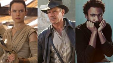 """Daisy Ridley (""""Star Wars IX""""), Harrison Ford (""""Indiana Jones 5"""") et Donald Glover (""""Le Roi Lion"""") seront les stars des prochains films les plus attendus de Disney ces prochaines années"""