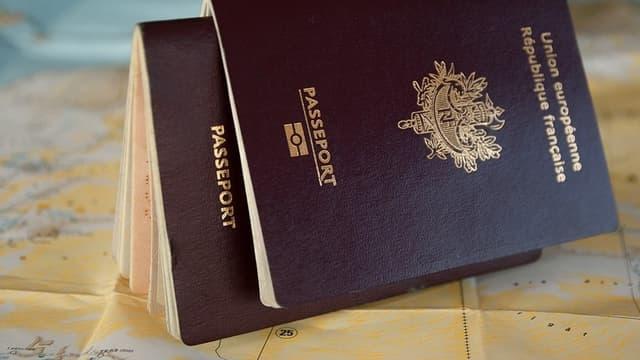 Un passeport - Image d'illustration