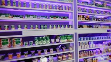 Danone avait, en 2011, stoppé la production de glaces et de yaourt en Chine