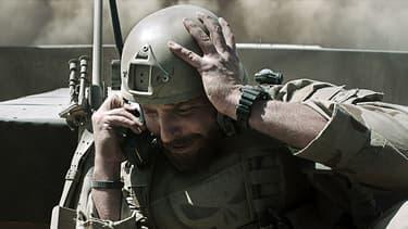 "Bradley Cooper dans ""American Sniper""."