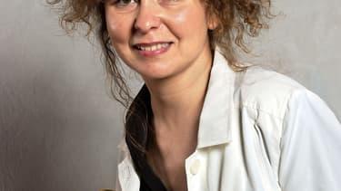 """Valérie Toranian, directrice de la rédaction du magazine """"Elle"""", le 5 juin 2004."""