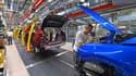 """Le groupe automobile français Stellantis a décidé de fermer """"jusqu'à début 2022"""" l'usine de sa filiale Opel à Eisenach en Allemagne en raison de la pénurie internationale de composants électroniques."""