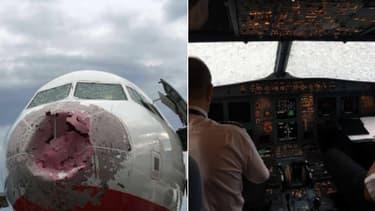 Le pilote ukrainien a atterri sans avoir aucune visibilité.