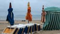 Une plage de Trouville, en Normandie, le 2 août 2021