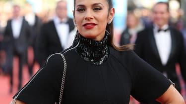 Elisa Tovati au festival de Cannes en mai 2015.