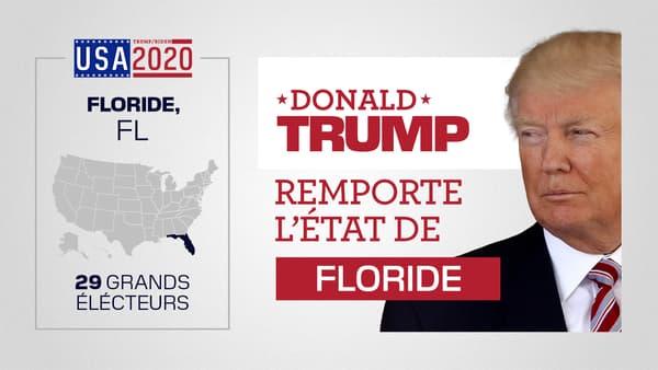Trump emporte la Floride