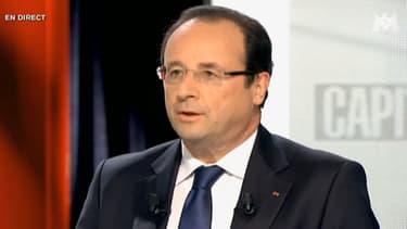 François Hollande est l'invité de Capital, sur M6, dimanche 16 juin.