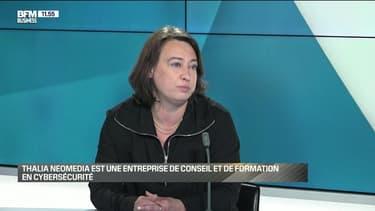 Delphine Chevallier (Thalia NeoMedia) : Thalia NeoMedia, premier cabinet de conseil dédié à la cybersécurité - 29/05