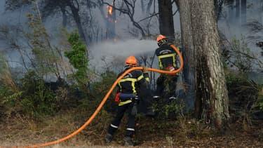 Plus de 700 pompiers sont mobilisés pour lutter contre cet incendie.