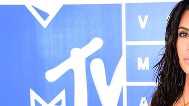 Kim Kardashian aux MTV Video Music Awards à New York en 2016