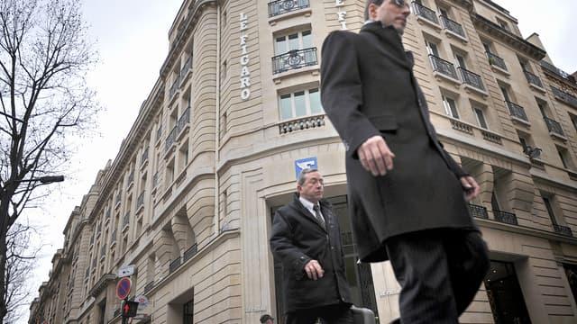 Le siège du Figaro, à Paris.