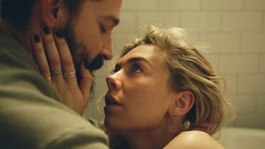 "Vanessa Kirby et Shia LaBeouf dans ""Pieces of a Woman"""
