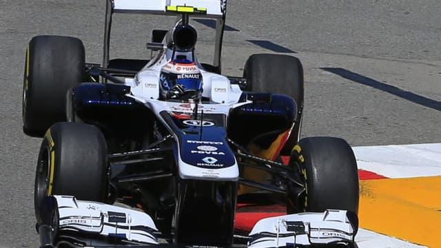 Les Williams seront équipées de moteur Mercedes à partir de la saison 2014