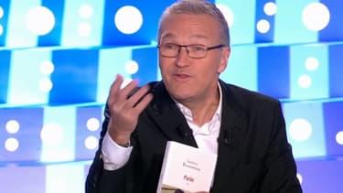 Laurent Ruquier sur le plateau de ONPC